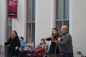 Familiennachmittag, Lider far kleyne un groyse kinderlekh – Jiddische Lieder und Mitmachtänze für alle